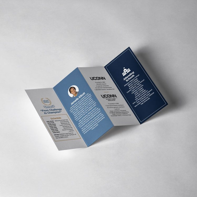 UDS quad fold brochure